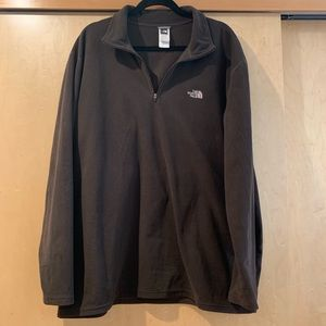 North Face fleece pullover quarter-zip